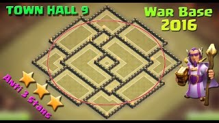 Th9 Bomb Tower Base clash of clans Epic Mini Game Mode + Funny Fails 2016
