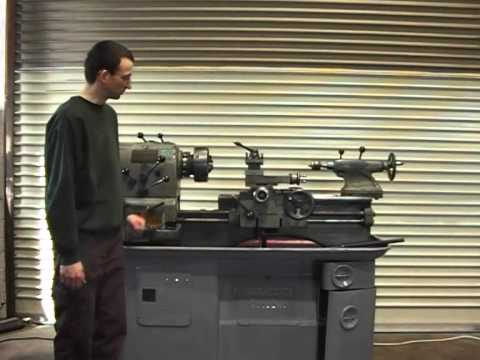 Colchester Student METAL LATHE FOR SALE On EBay UK - Demo Video