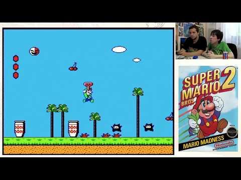 На кухне - LIVE! Super Mario Bros. 2