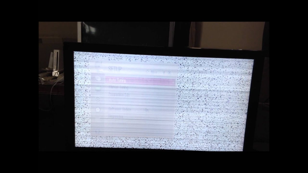 LG TV Screen Problem