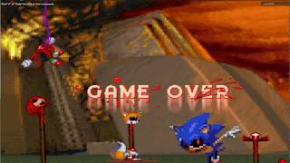Sonic.EXE in roblox act 3 and game over