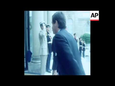SYND 3 7 80 PORTUGUESE PRIME MINISTER CARNEIRO MEETS PRESIDENT GISCARD IN PARIS