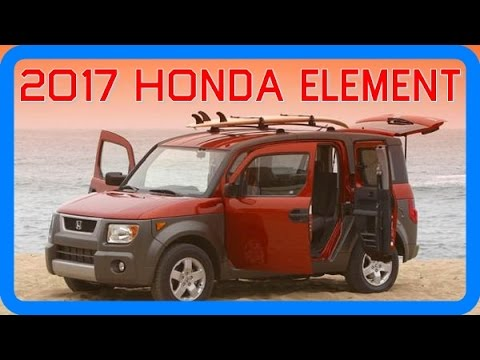2017 Honda Element Redesign Interior and Exterior