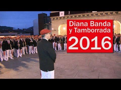 Diana de Banda y Tamborrada San Marcial 2016   Txingudi Online