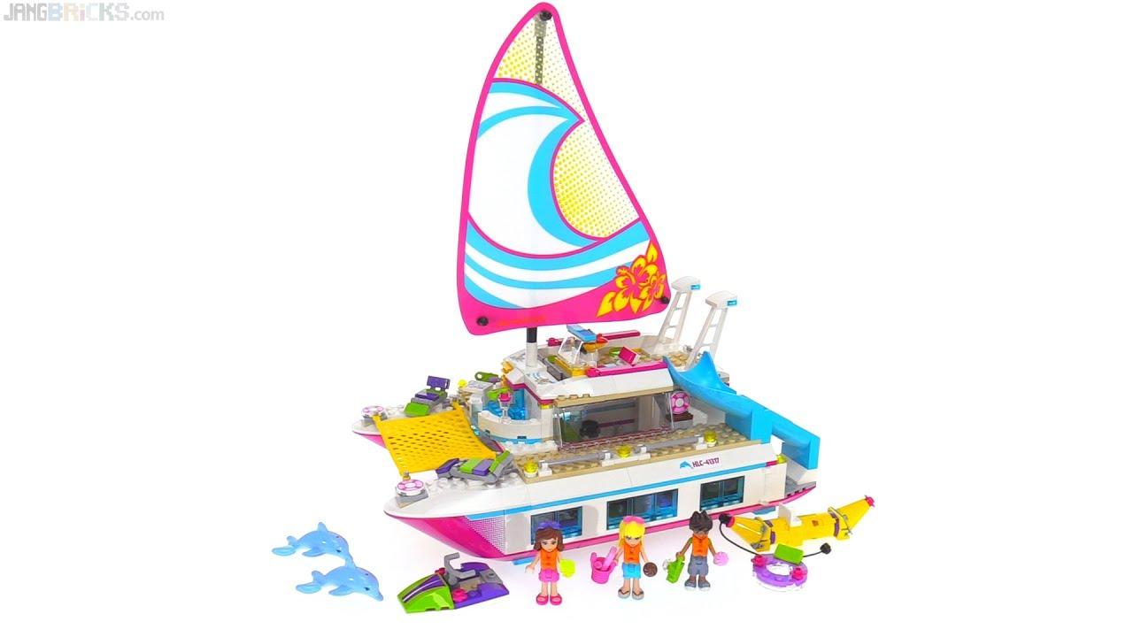 Modernistisk LEGO Friends Sunshine Catamaran review ⛵ 41317 - YouTube ZY-45