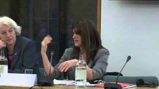 8 December 2012: Final Plenary: Violence Against Women & Girls
