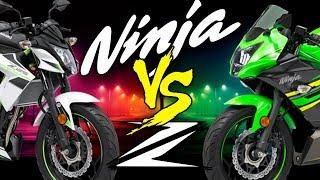 Kawasaki Ninja Vs Z - ¿Cual es mejor?