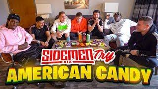 SIDEMEN TRY AMERICAN CANDY