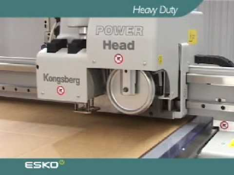 Esko Kongsberg XL Heavy duty