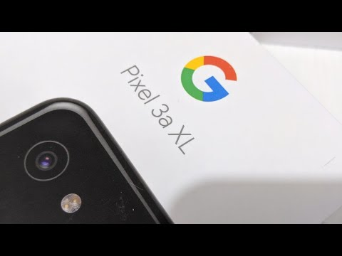 Google Pixel 3A XL Unboxing & First Look