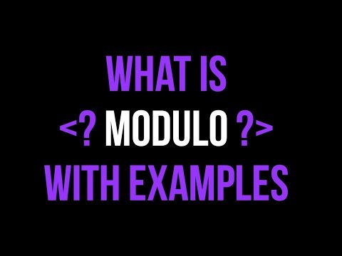 What is Modulo? Using the Modulo Operator in Python and Swift Tutorial thumbnail
