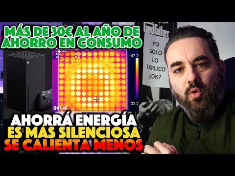 COMPROBADO Xbox Series X TE AHORRARÁ + de 30€ al AÑO es MÁS SILENCIOSA y se CALIENTA MENOS que One X