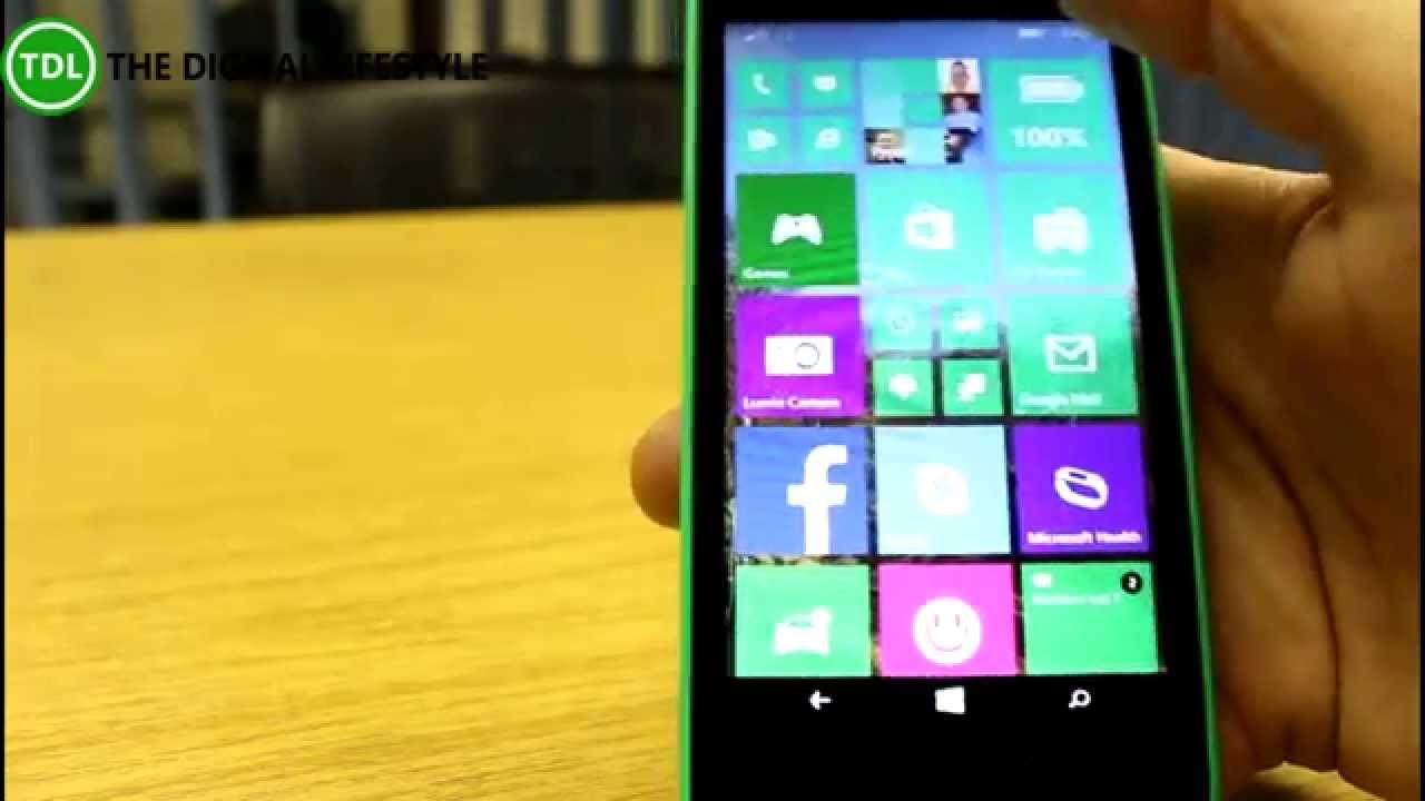 app su lumia 630