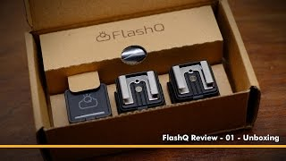 FlashQ Wireless Flash Trigger Review - 01 - Unboxing