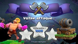 Clash of Clans - COMPO MDO BARBARE CHARETTE