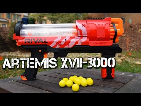 Review: Nerf Rival Artemis XVII-3000 Unboxing