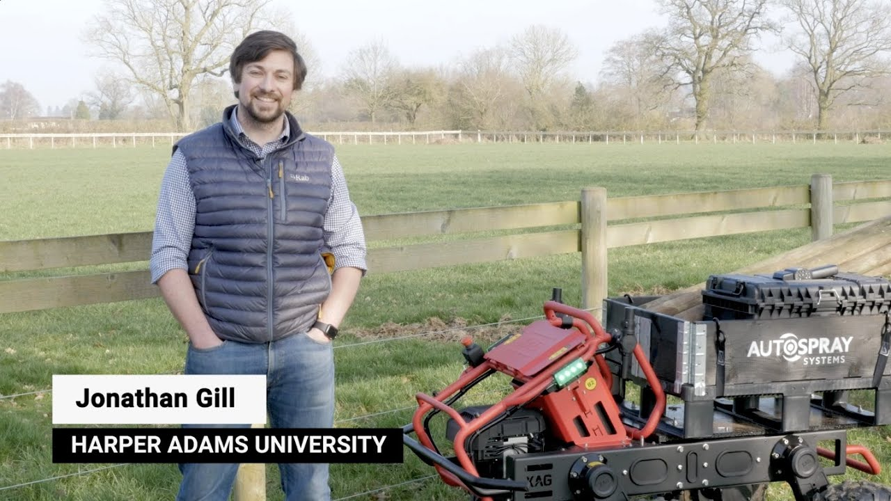 The Future of All Electric, Autonomous Vehicles in Agriculture - Dr Jonathan Gill Explains