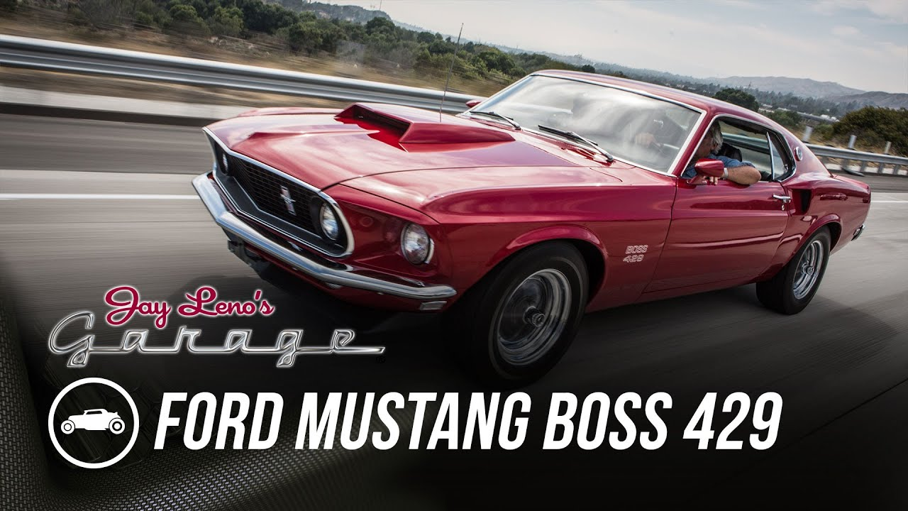 1969 ford mustang boss 429 jay lenos garage youtube