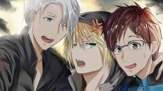 Yuri On Ice(Yuri,Viktor and Yurio) - Speedpaint