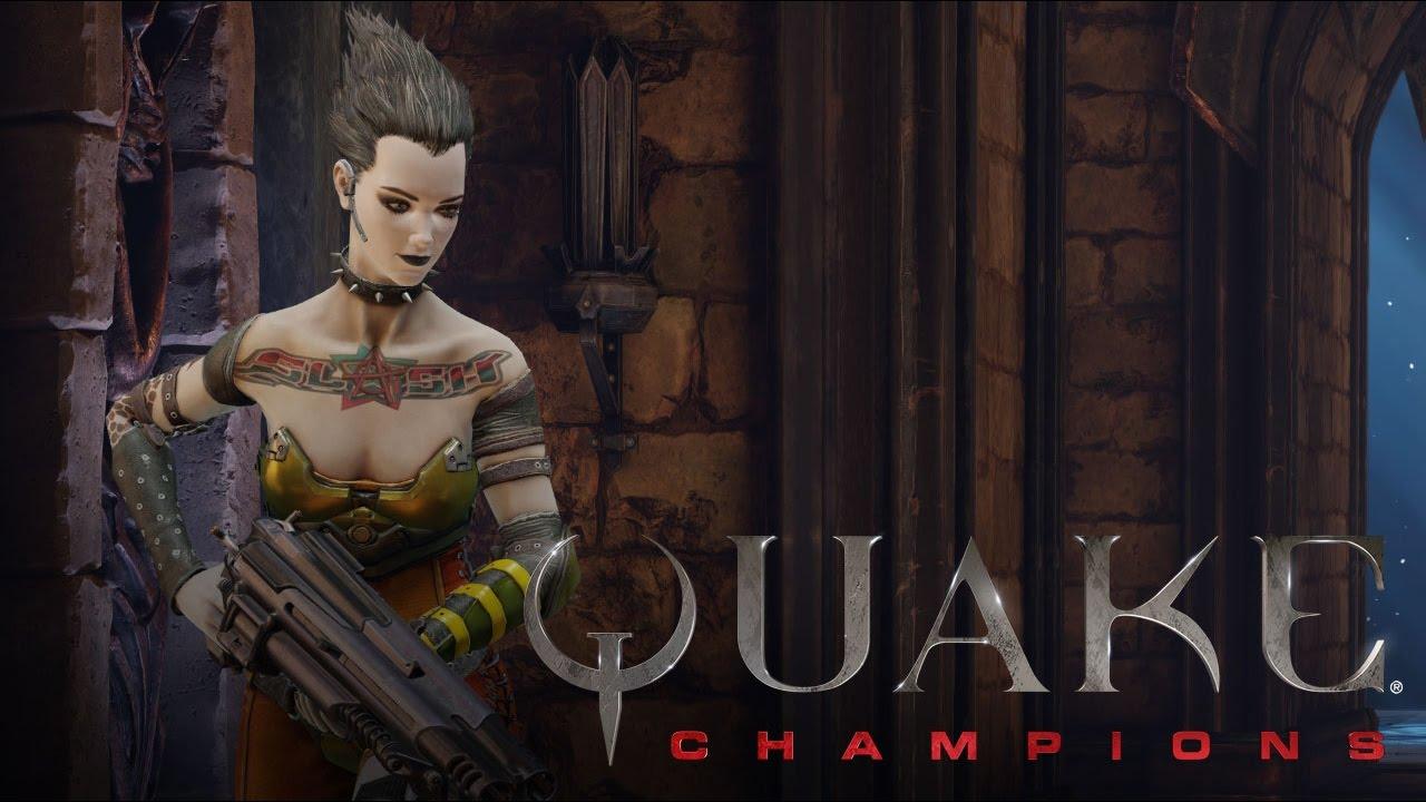 Quake Champions Slash Karakteri Tanıtım Videosu resimi