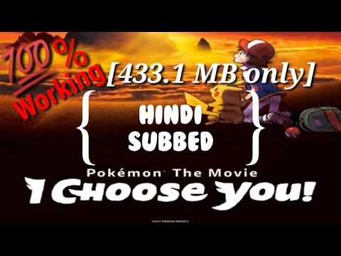"""How To Download """"Pokémon Movie: 20th, I Choose You!""""_full Movie_in Hindi Subbed_english Dubbed_HD"""