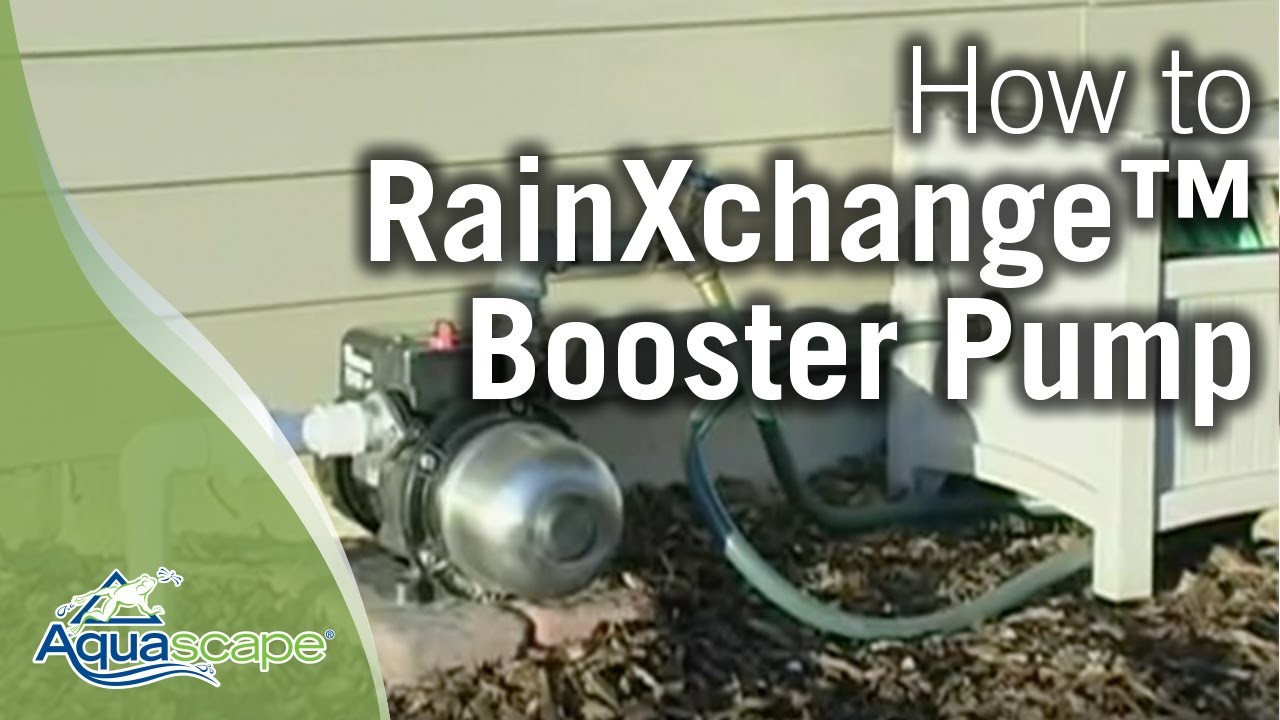 How To Install A Rainwater Harvesting Booster Pump Youtube