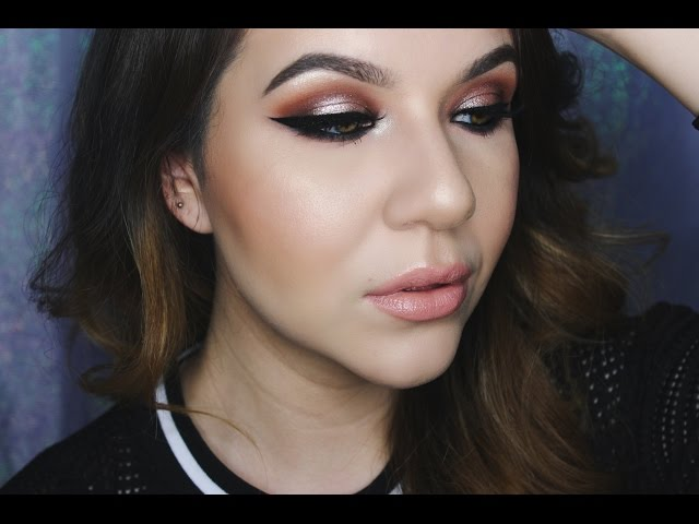 A Pop of Champagne Anastasia Shadow Couture Palette Tutorial | KatEyedTv