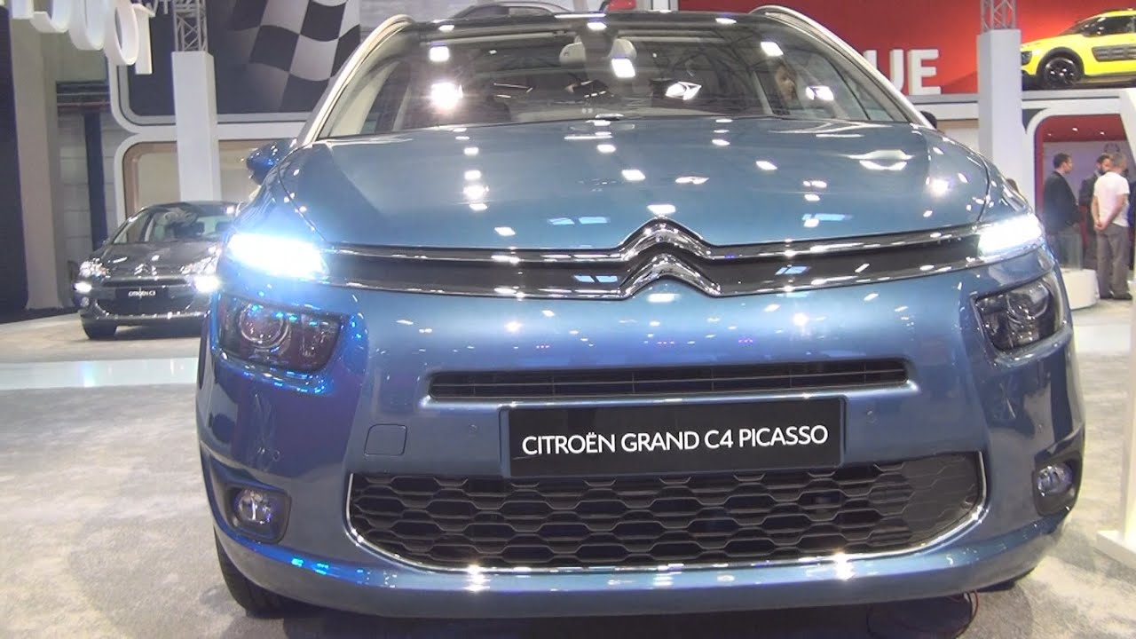 Citro n grand c4 picasso intensive 1 6 bluehdi 120 hp eat6 2015 exterior and interior in 3d - C4 picasso interior ...