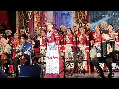 Кубанский казачий хор. Юбилейный концерт в Краснодаре. Поставьте памятник деревне.