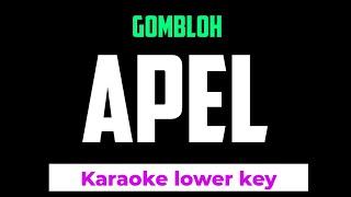 Gombloh - Apel Karaoke Nada Rendah -4