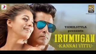 Official HD KANNAI VITTU  Iru Mugan | Vikram, Nayanthara | Harris Jayaraj