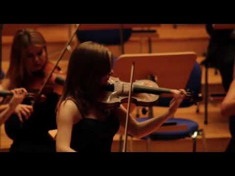 Wolfgang Amadeus Mozart - Violin Concerto No.3, Mov.1 Soloist: İpek Atila, Tolga Atalay UN