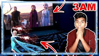 DO NOT WATCH THE FROZEN 2 MOVIE AT 3AM!! *THIS IS WHY* OMG ELSA CAME TO MY HOUSE!!