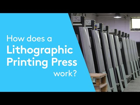 Offset Lithographic Printing - How It Works Video | Presented by Solopress