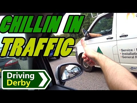 UK Driving Observations #19 TRAFFIC!
