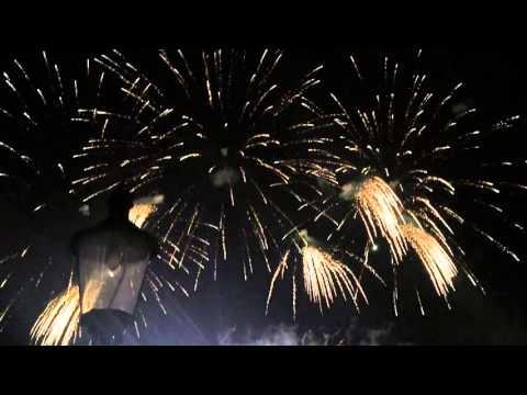 New Year 2016 Fireworks - Bratislava, Slovakia