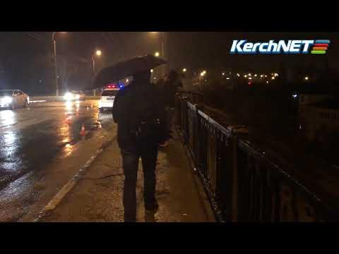 kerchnettv: Керчь: машина упала с горьковского моста