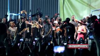 FRENCH MONTANA Brings Out BOBBY SHMURDA Live @ FOOLS GOLD DAY OFF