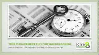 Production Contract | Time Management Tips for Busy Videographers