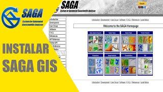 Instalación del software libre Saga GIS 5.0