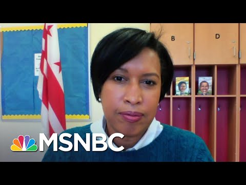 DC Mayor Bowser Calling For A Congressional Inquiry Into Security Failures | Andrea Mitchell | MSNBC