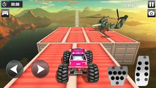3D Impossible Monster Truck Survivor - 4x4 Stunts Monster Games - Android gameplay FHD