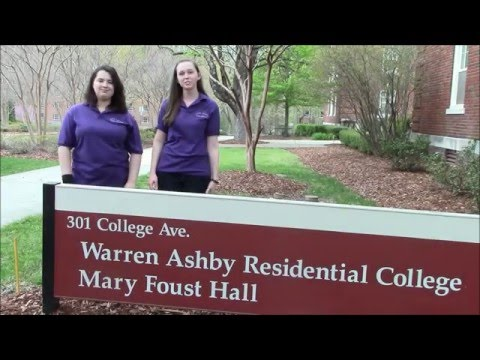 Ashby Residential College at UNCG