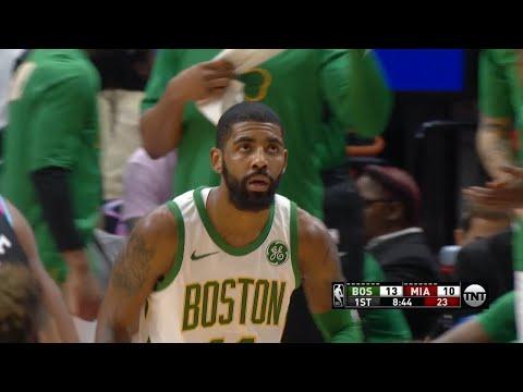 Boston Celtics vs Miami Heat - 1st Half Highlights | Jan 10, 2019 | 2018-19 NBA Season
