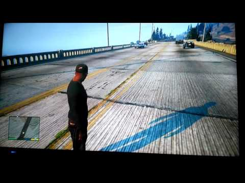 Gta 5 (intihar) Köprüden Atlama . Part1