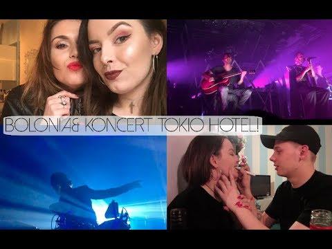 VLOG: BOLONIA & KONCERT TOKIO HOTEL!   CLAU