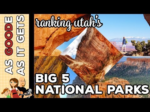Ranking The Big Five National Parks In Utah