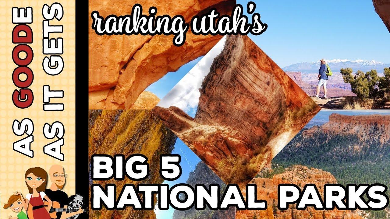 The Big 5 Utah >> Ranking The Big Five National Parks In Utah