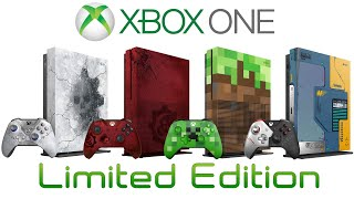All Limited Edition Xbox One Consoles Ever