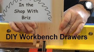 Build Drawers To Enhance Your Workbench